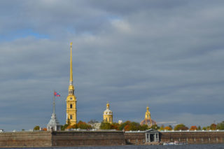 The Attractions Of St. Petersburg. Peter and Paul Cathedral
