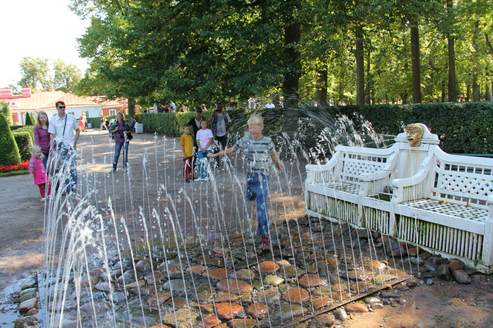 Fountain-cracker «Bench»