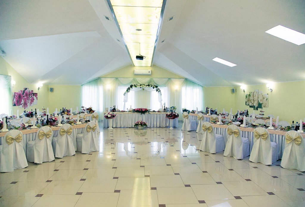 Banquet hall Spring