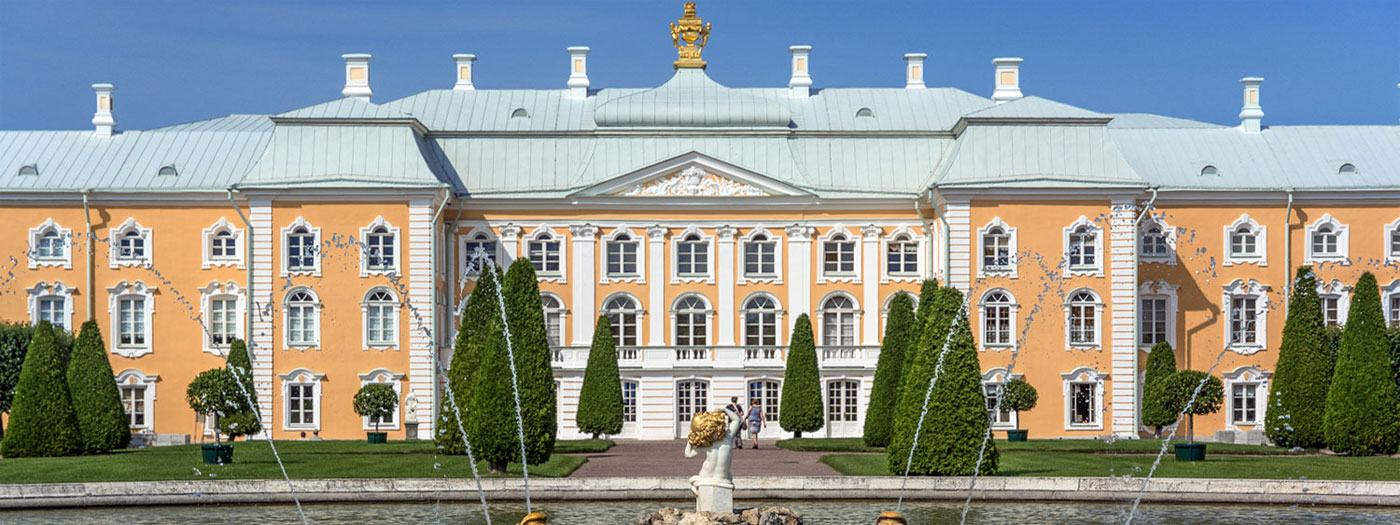 Welcome to «Imperial residence» tour in Peterhof!